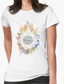 Moscow Womens Fitted T-Shirt