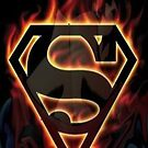 SUPERMAN IPHONE CASE by lykos1988