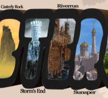 Westeros GAME OF THRONES Sticker