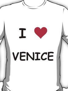 I LOVE VENICE T-Shirt