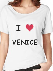 I LOVE VENICE Women's Relaxed Fit T-Shirt