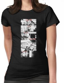 Russian Flower Crown. Womens Fitted T-Shirt