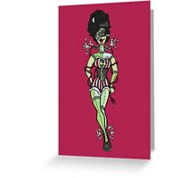 Sparky, Bride of Frankenstein  Greeting Card