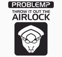 Throw it Out the Airlock in Black by vhkolb