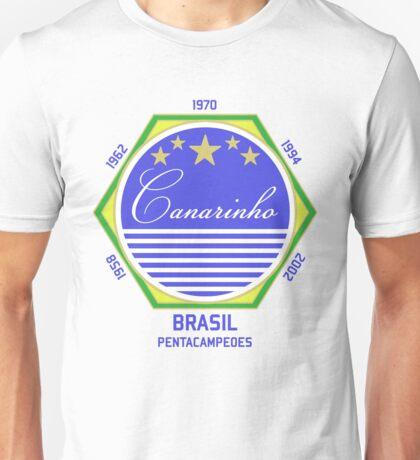 Brasil Canarinho Unisex T-Shirt