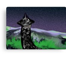 The Wizard Canvas Print