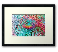 Spinning Abstract Framed Print