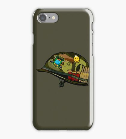 Watchmen - Viet Nam Helmet iPhone Case/Skin
