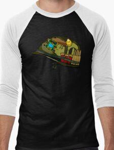 Watchmen - Viet Nam Helmet Men's Baseball ¾ T-Shirt
