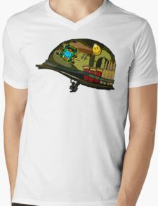 Watchmen - Viet Nam Helmet Mens V-Neck T-Shirt