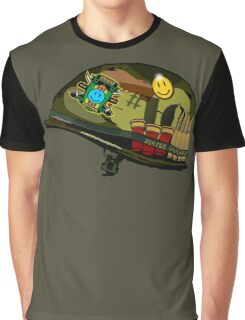 Watchmen - Viet Nam Helmet Graphic T-Shirt