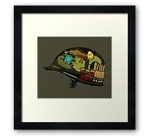 Watchmen - Viet Nam Helmet Framed Print