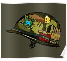 Watchmen - Viet Nam Helmet Poster