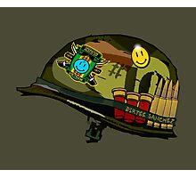 Watchmen - Viet Nam Helmet Photographic Print
