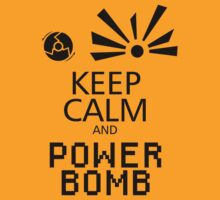 Keep Calm and Power Bomb - Light Colours by toasterpip