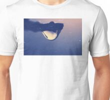 Water drop on the branch Unisex T-Shirt