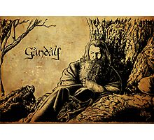 Gandalf the Grey Photographic Print
