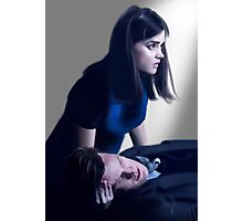 Dr Who and Clara Oswin Oswald Photographic Print