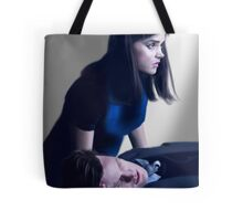 Dr Who and Clara Oswin Oswald Tote Bag
