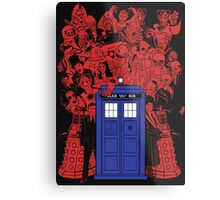 They Have The Phone Box... Metal Print