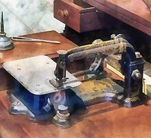 Wheeler and Wilson Sewing Machine Circa 1850 by Susan Savad