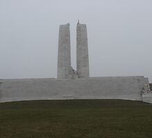 Fog at Vimy Ridge by Michael & Alyssa Straus