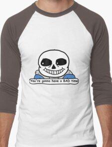 Undertale - Sans, Bad Time Men's Baseball ¾ T-Shirt