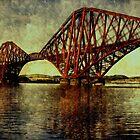 forth rail bridge by dale54