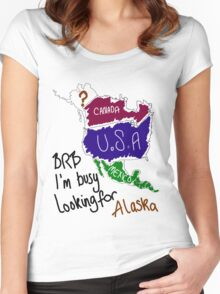 I'm busy looking for Alaska Women's Fitted Scoop T-Shirt