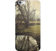 Creek at Dusk iPhone Case/Skin