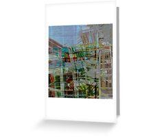 scaffold 23 Greeting Card