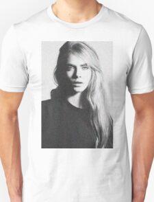 cara black and white Unisex T-Shirt