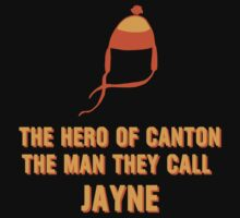 Jayne Hat Shirt - The Man They Call Jayne One Piece - Short Sleeve