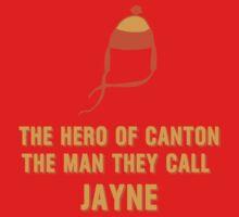 Jayne Hat Shirt - The Man They Call Jayne One Piece - Short Sleeve
