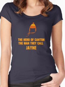 Jayne Hat Shirt - The Man They Call Jayne Women's Fitted Scoop T-Shirt