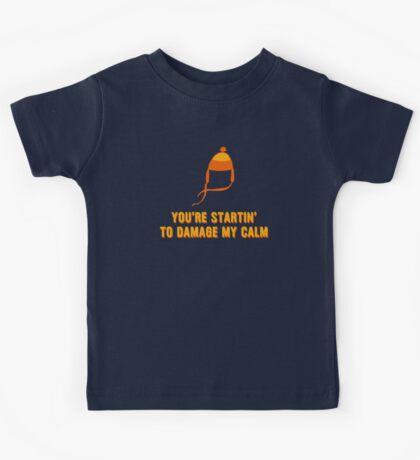 Jayne Hat Shirt - Damage My Calm Kids Tee