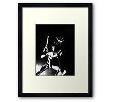 ©DA-AS In Shadows Framed Print