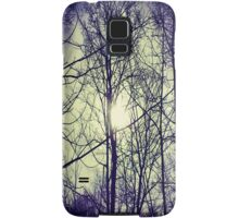 Bitter Blue Ice Sky Samsung Galaxy Case/Skin