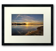 Shore Light Framed Print