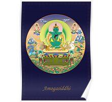 Amogasiddhi Buddha Poster