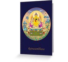 Ratnasambhava Buddha Greeting Card