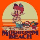 Mushroom Beach by Blueswade