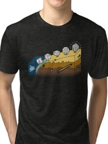 The Evolution of Dice Tri-blend T-Shirt