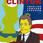 Vote Clinton by JamieIII