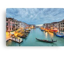 Clouds over the Grand Canal, Venice Canvas Print