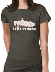I Eat Vegans Womens Fitted T-Shirt