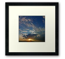 ©HCS On The Hill Sunset Framed Print
