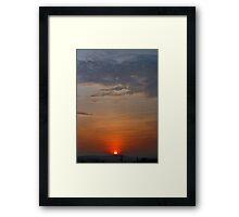 ©HCS Morning Sun I Framed Print