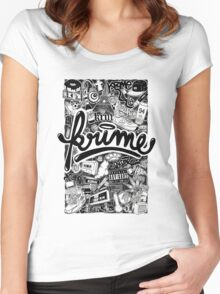 Krime Lifestyle  Women's Fitted Scoop T-Shirt