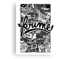 Krime Lifestyle  Canvas Print